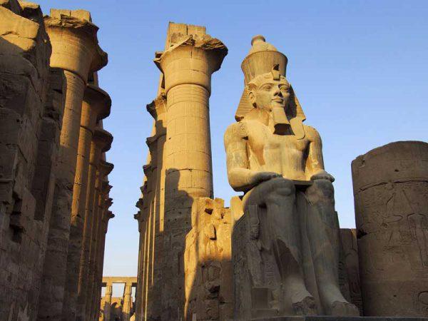 Świątynia Luxor w egipcie