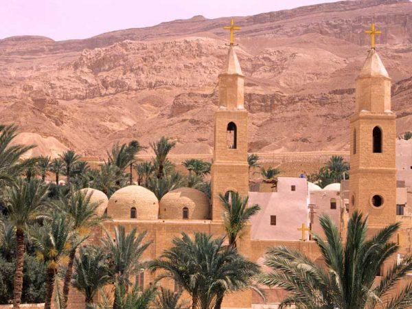 St Anthony Monastery w Egipcie