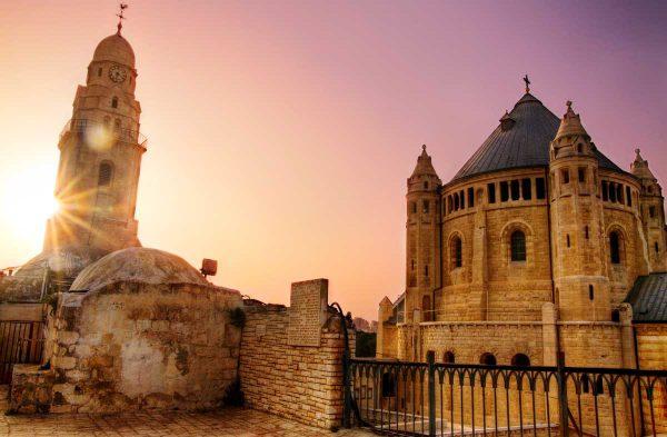 zbliżenie na bazylikę w Jerozolimie, Izrael