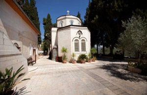 mały kościółek położony w Jerozolimie