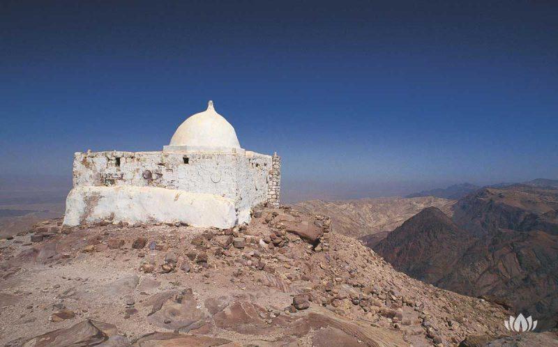 ruiny skalnego miasta Petra w Jordanii