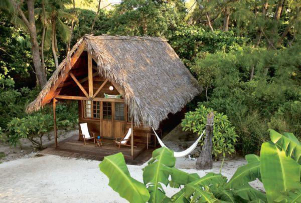Domek w dzungli na Madagaskarze
