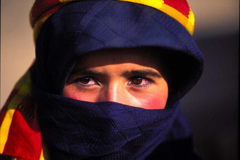 Człowiek mieszkający w Maroko