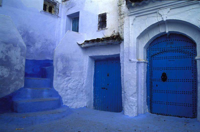 Niebieska brama w Maroko