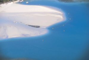 Plaża i boje na Mauritius