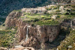starożytne stepy na wzgórzach wioski Al Ain w Omanie