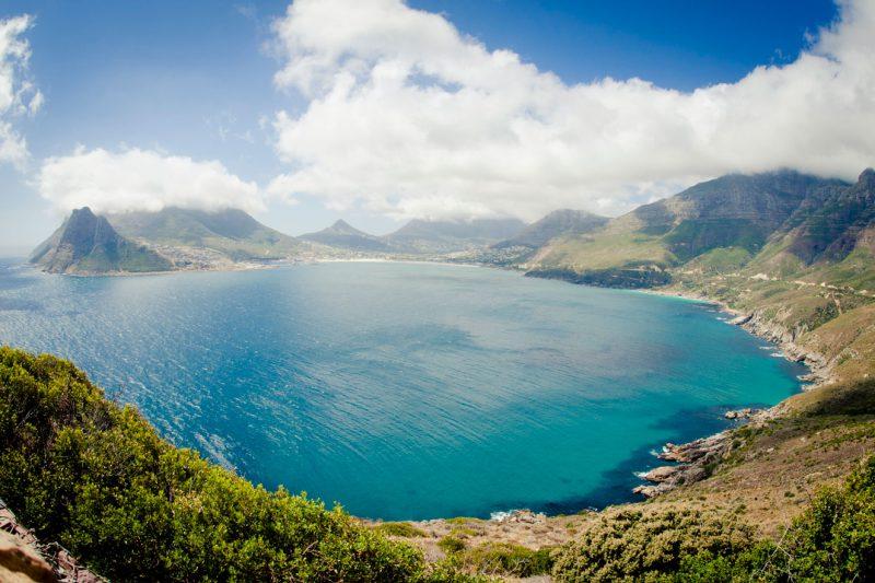 Widok na zatokę RPA