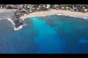 Widok na ocean Reunion