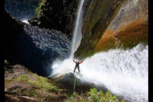 Wodospad w Reunion