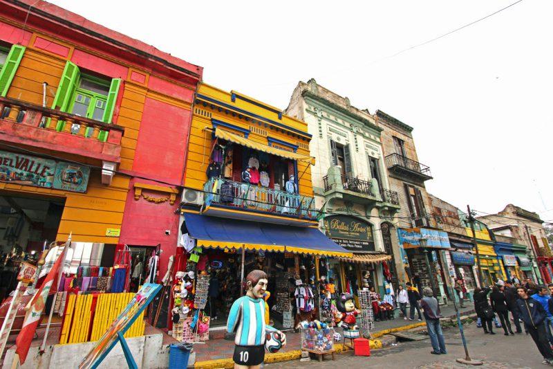Małe sklepiki w argentynie, Buenos boca