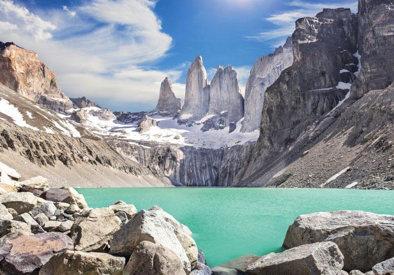 wyspa ognista położona w Argentynie
