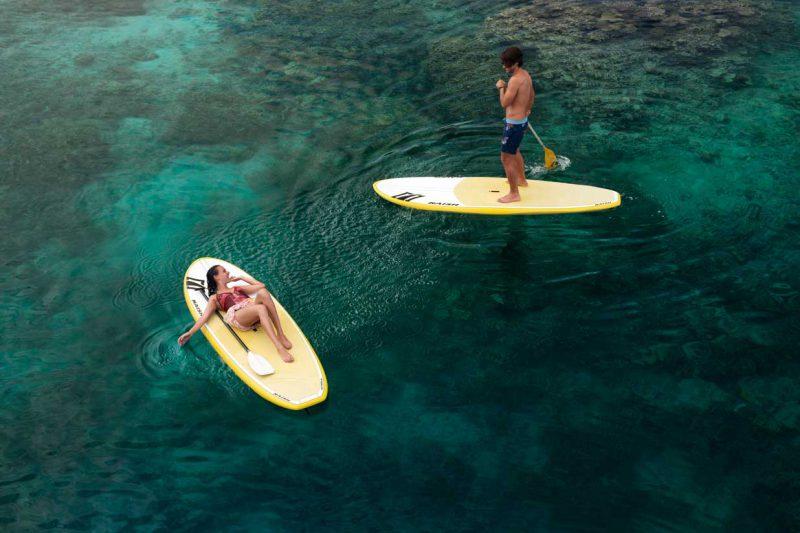 para turystów pływających na deskach, Fidżi
