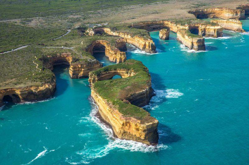 skały u brzegów Australii
