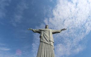Statua Jezusa w Rio de Janeiro, Brazylia