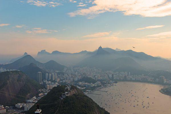 widok na brazylię
