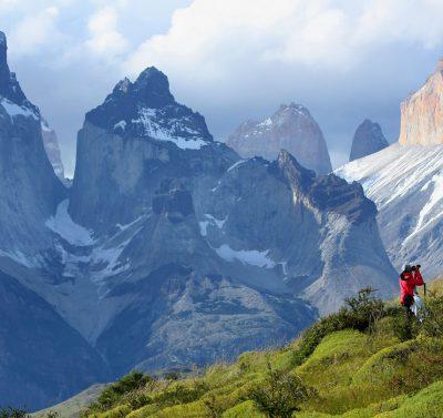 panorama gór w Chile, Torres del Paine Cuernos