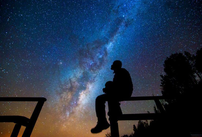 Gwieździste niebo w chile atacama