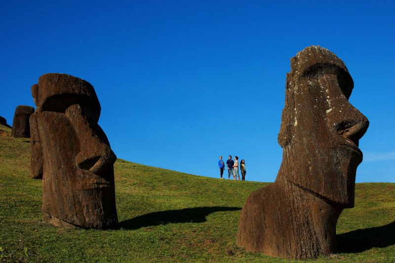 Posągi na wyspie wielkanocnej, Chile