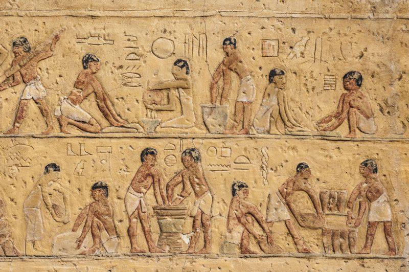Hieroglify w Egipcie