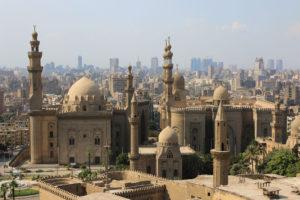 Budowle w Egipcie w Kairze