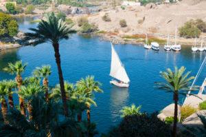 Jacht na Nilu Kair egipt
