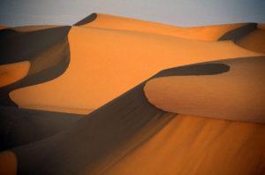 Pustnia w Namibii bez ludzi