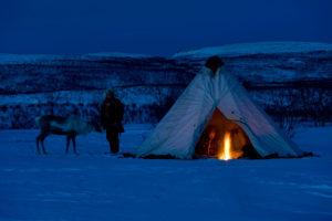 Nocleg w namiocie w Norwergii
