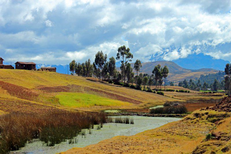 Przepiękna panorama, Peru, Andy