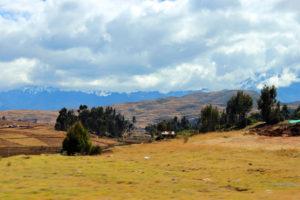 Spokojna panorama And, Peru