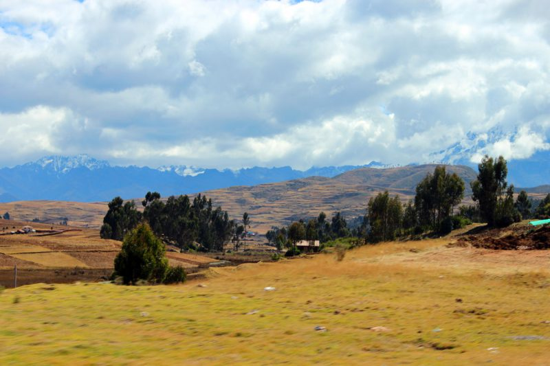 Spokojna panorama And, Peru
