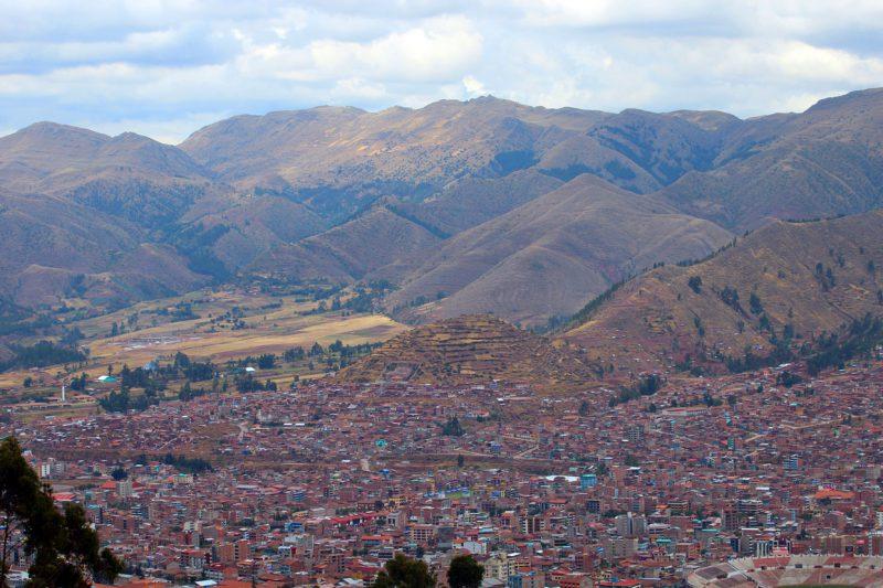 Panorama miasta Cuzco, Peru