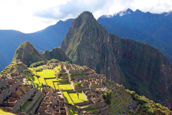 Widok na machu picchu, Peru