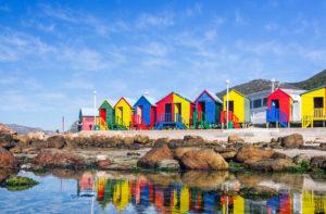 Kolorowe domki rpa capetown