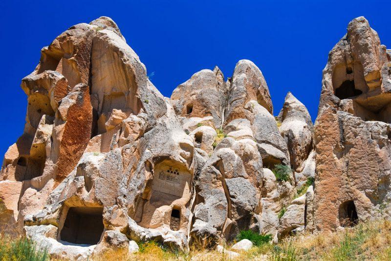 formacje skaliste w Kapadocji