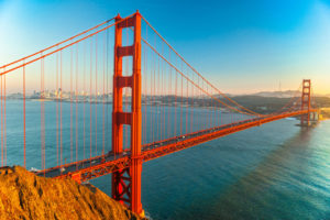Czerwony most w San Francisco