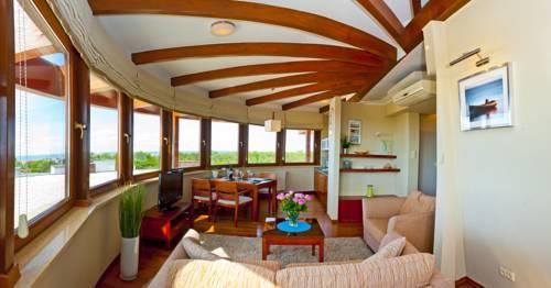 Hotel z widokiem na morze w blueapart dom zdrojowy jastarnia