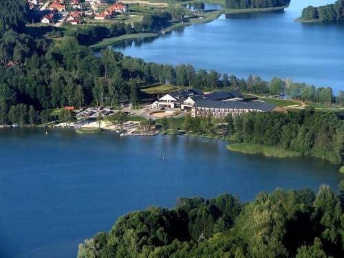 widok z lotu ptaka na hotel marina club destination spa