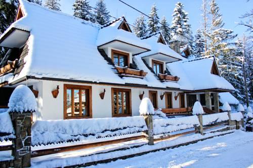 Hotel tatra w zimowej odsłonie