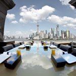 widok na miasto Szanghaj