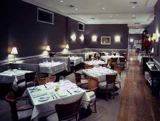 przytulne, eleganckie wnętrze restauracji Josie, Kalifornia