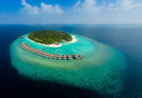 Ośrodek wypoczynkowy usit Thani Maldives na Maledwiach.