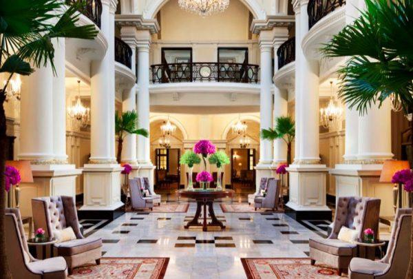 hol hotelu Szanghaj Waldorf Astoria, Chiny