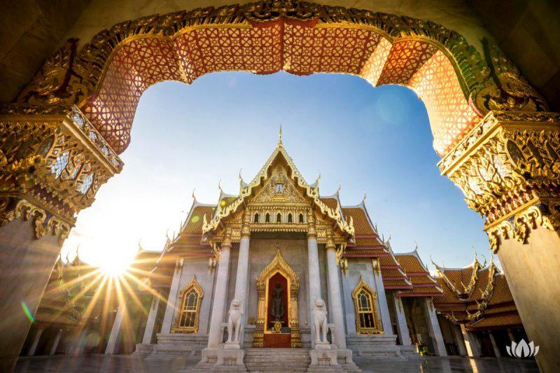 Świątynia Benchamabophit dusitvanaram, Tajlandia