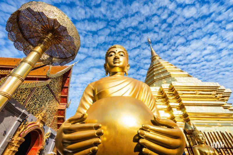 Świątynia w Chiang Mai, Tajlandia.