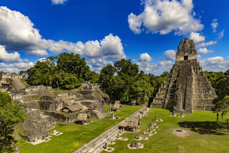 Państwo w Ameryce Północnej, Gwatemalia, miasto Tikal, Świątynia