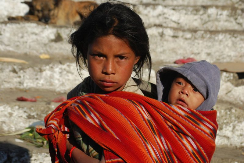 Dzieci z Gwatemalii