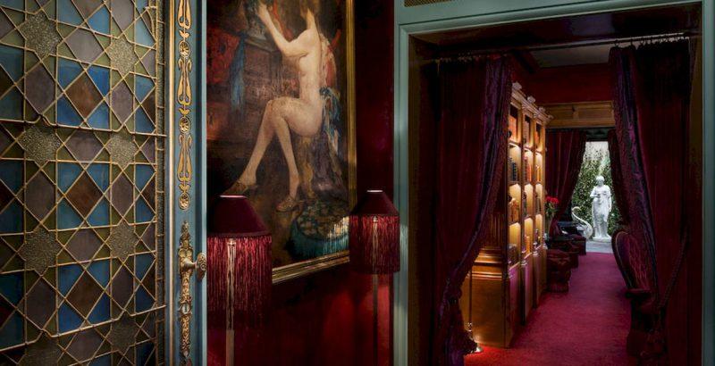 eleganckie francuskie wnętrze